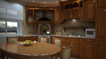 دانلود آبجکت کابینت آشپزخانه کلاسیک