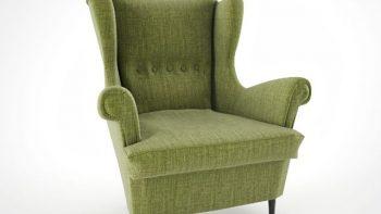 دانلود آبجکت صندلی راحتی کلاسیک