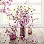 مدل سه بعدی گلدان و گل و گیاه