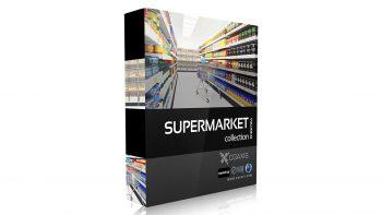 دانلود مدل سه بعدی سوپرمارکت