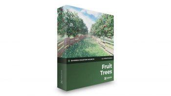 دانلود آبجکت درخت میوه