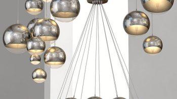 دانلود مدل سه بعدی لامپ و لوستر مدرن
