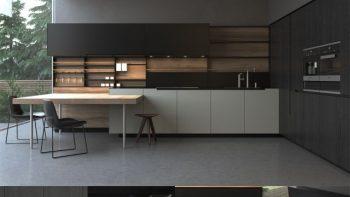 دانلود 10 مدل سه بعدی کابینت آشپزخانه