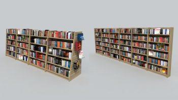 دانلود آبجکت لوازم فروشگاه کتاب