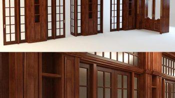 دانلود رایگان مدل سه بعدی درب و پنجره
