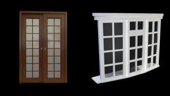 دانلود آبجکت درب و پنجره