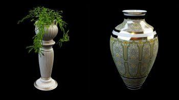دانلود آبجکت گلدان