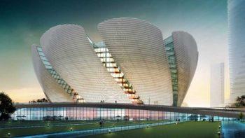 دانلود مدل سه بعدی نمای بیرونی ساختمان