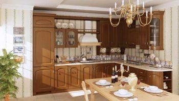دانلود مدل سه بعدی آشپزخانه کلاسیک و مدرن