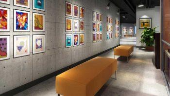 دانلود مدل سه بعدی نمایشگاه و فضای اداری
