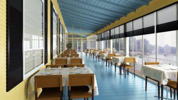 دانلود مدل سه بعدی رستوران و کافه