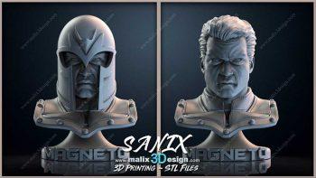 دانلود مدل سه بعدی مجسمه مغناطیسی برای 3D Print