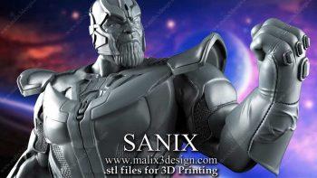 دانلود مدل سه بعدی کاراکتر Thanos برای 3D Print