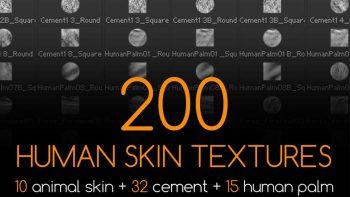دانلود تکسچر پوست بدن انسان برای زیبراش