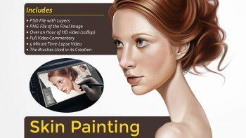 آموزش نقاشی پوست در فتوشاپ – Photoshop