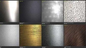 دانلود متریال فلز براق و چرم برای Substance