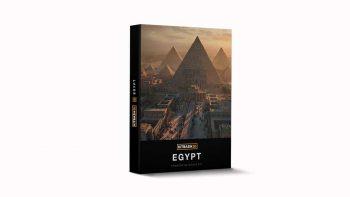 دانلود مدل سه بعدی بناهای مصری