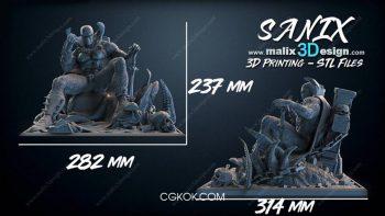 دانلود مدل سه بعدی کاراکتر تخیلی برای پرینت سه بعدی