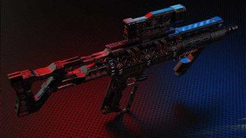 دانلود مدل سه بعدی اسلحه لیزری