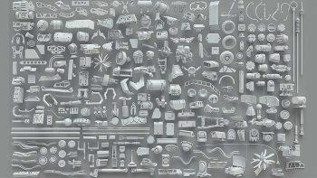 دانلود آبجکت قطعات فلزی