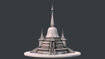 دانلود مدل سه بعدی معبد