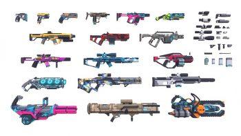 دانلود آبجکت اسلحه علمی تخیلی – Sci Fi Gun