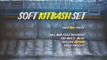 دانلود مدل سه بعدی قطعات Soft Kitbash