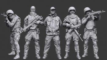 دانلود آبجکت کاراکتر سرباز
