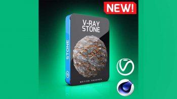 دانلود تکسچر سنگ برای موتور رندر Vray در سینما فوردی