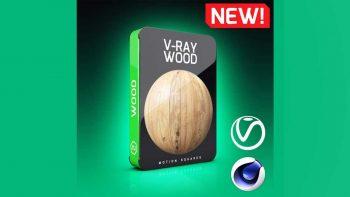 دانلود تکسچر چوب برای موتور رندر Vray در سینما فوردی