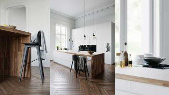 دانلود مدل سه بعدی آشپزخانه سفید از CGTrader