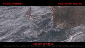 آموزش ایجاد جلوه های ویژه دریا در هودینی – Houdini