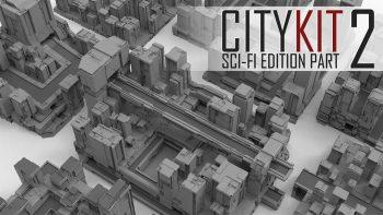 دانلود مدل سه بعدی ساختمان علمی تخیلی