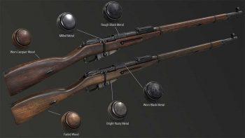 دانلود اسمارت متریال اسلحه برای سابستنس پینتر