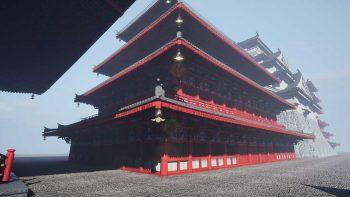 دانلود مدل سه بعدی معماری ژاپنی