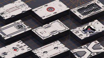 دانلود آبجکت سطوح سخت مکانیکی