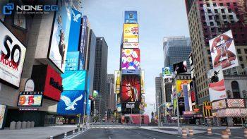دانلود مدل سه بعدی شهر نیویورک