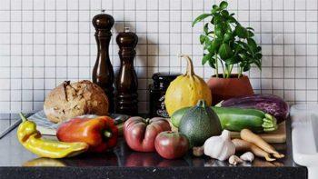 دانلود آبجکت فوتوگرامتری میوه و سبزیجات
