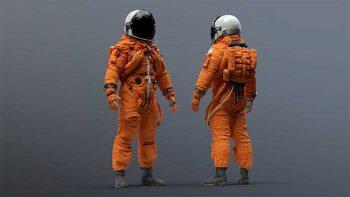 دانلود آبجکت فضانورد ناسا