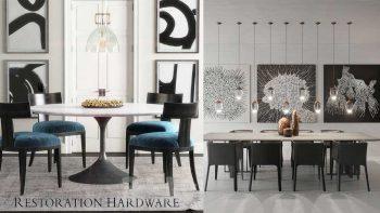 دانلود مدل سه بعدی ست میز و صندلی