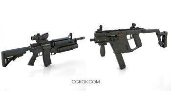 دانلود آبجکت اسلحه از Hum3D