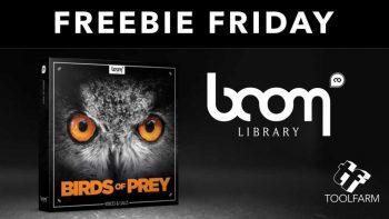 مجموعه افکت صوتی پرندگان شکاری – Boom Library – Birds of Prey