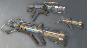 آموزش ساخت اسلحه و قطعات پشتیبانی برای بازی