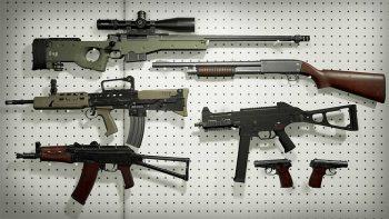 دانلود آبجکت اسلحه FPS برای آنریل انجین
