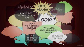 دانلود پروژه Speech Bubbles برای آنریل انجین