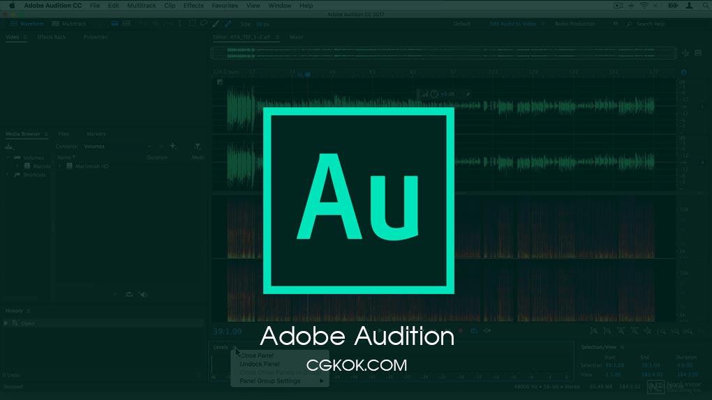 نرم افزار ویرایش فایل صوتی – دانلود Adobe Audition CC
