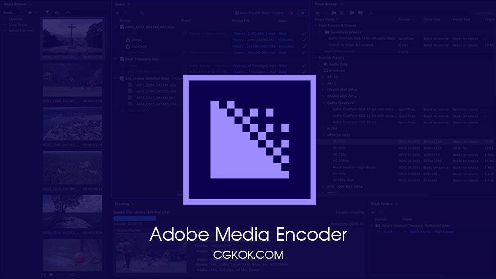 نرم افزار تبدیل فرمت ویدئویی – دانلود Adobe Media Encoder CC