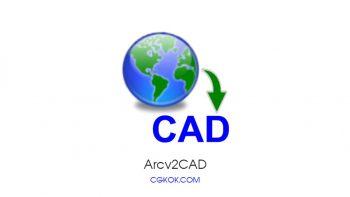 نرم افزار تبدیل فایل های ArcGIS به کد – Arcv2CAD 8 Rev A.17