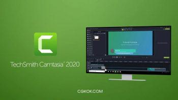نرم افزار فیلم برداری حرفه ایی از صفحه نمایش – دانلود TechSmith Camtasia v2019.0.10 Build 17662 x64