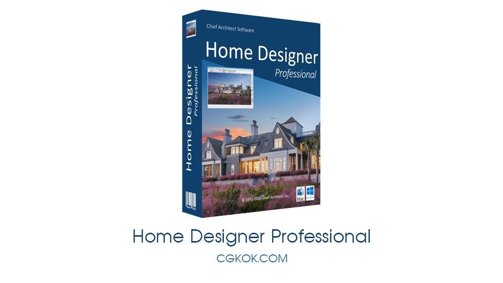 نرم افزار طراحی سه بعدی داخلی و خارجی ساختمان – دانلود Home Designer Professional